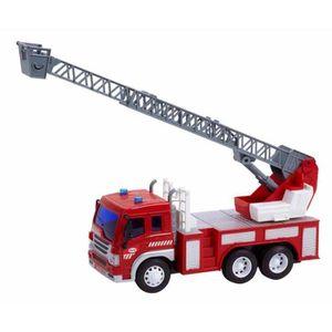 grand camion pompier achat vente jeux et jouets pas chers. Black Bedroom Furniture Sets. Home Design Ideas