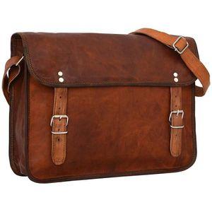 en pour sac pouces 15 en cuir cuir messager besace cartable sac de TPgwYCnqw