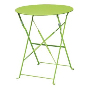 MANGE-DEBOUT Boléro vert Pavement style acier Table 595mm