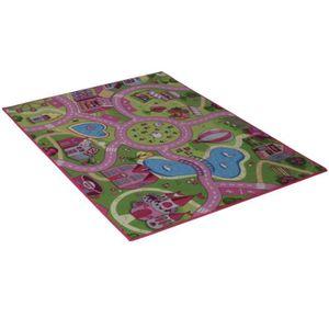 tapis enfant fille achat vente tapis enfant fille pas. Black Bedroom Furniture Sets. Home Design Ideas