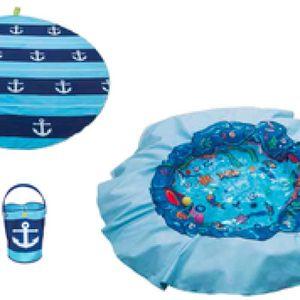 PATAUGEOIRE Tente anti UV et piscine Mayo Parasol Piscine de p