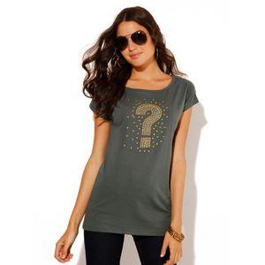T-SHIRT Tee-shirt femme Venca avec détai...