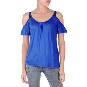 666d2c9b7c247 T-shirt col rond femme - Achat   Vente T-shirt col rond femme pas ...