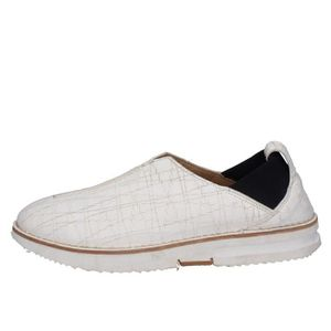MOCASSIN MOMA Chaussures Homme Mocassin Cuir Blanc BT571