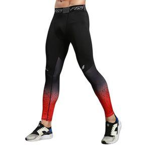 LEGGING DE COMPRESSION Pantalon de Compression Homme Legging de Sport Fit