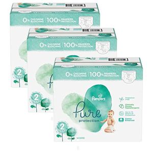 COUCHE 135 Couches Pampers Pure Protection taille 2