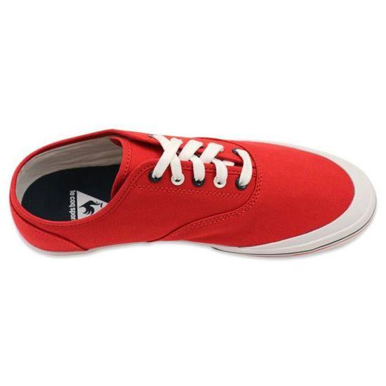 GRANDVILLE CVO JR RGE - Chaussures Femme/Fille Le Coq Sportif Rouge Rouge - Achat / Vente basket