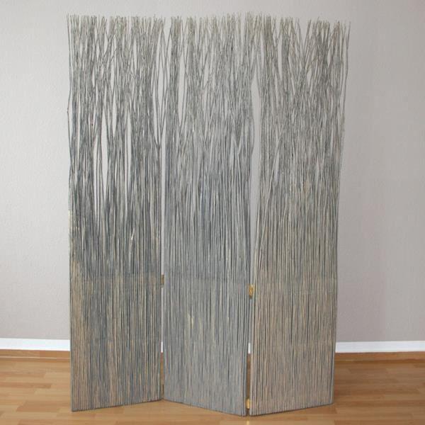 paravent s parateur de pi ce bois frame 3 pans achat. Black Bedroom Furniture Sets. Home Design Ideas