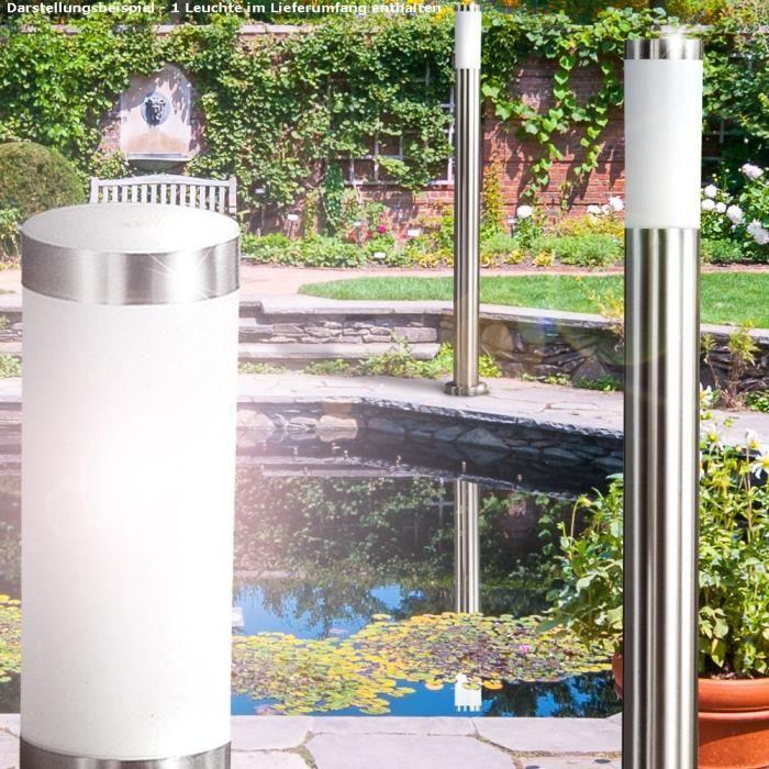 lampadaire extérieur led 7 watts luminaire lumière ip44 terrasse