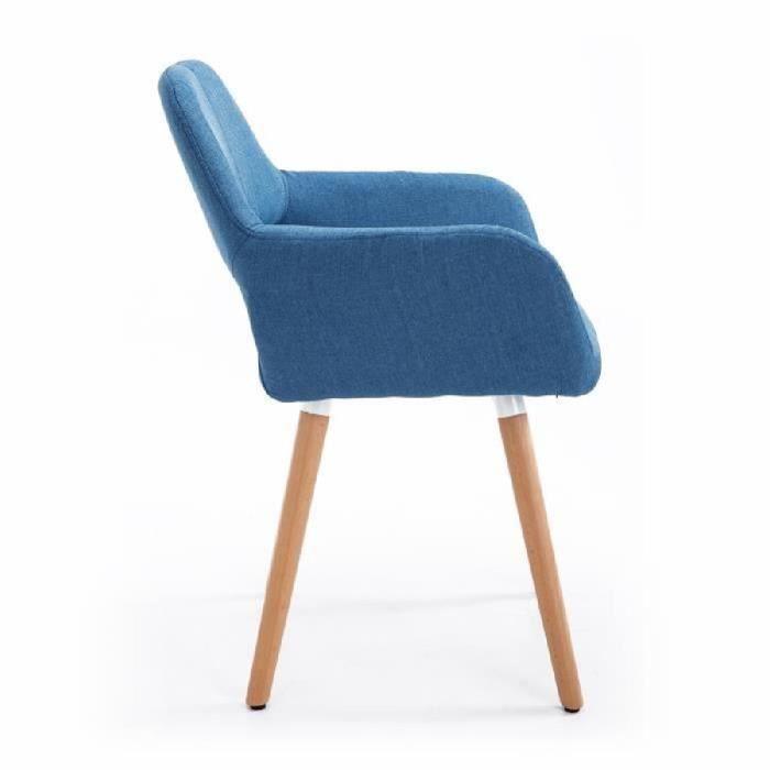 chaise chaise de visiteur design scandinave accoudoirs pi - Chaise Scandinave Design