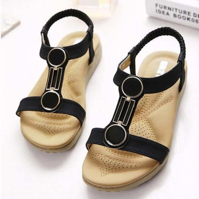 Femmes chaussures sandales confort sandales femmes ete KIANII® PUFqzDz