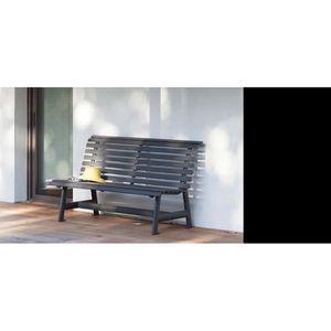 Banc de jardin en aluminium - Achat / Vente pas cher
