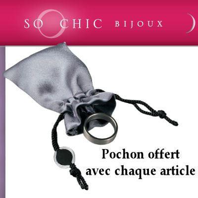 Bague Joaillerie Zirconia Noir Argent