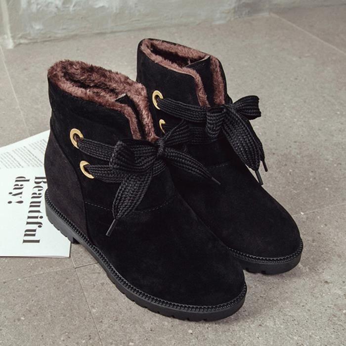 Chaussures Rchauffez Suede Velvet Neige Coton Martin Bottines 2379 De Bottes Women zzwqOUF