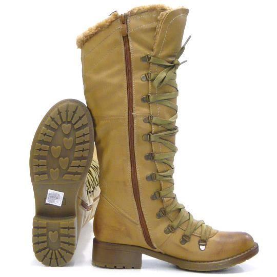 femmes chaussures bottes doublé robuste hiver Boots marron 36 AhTevsha