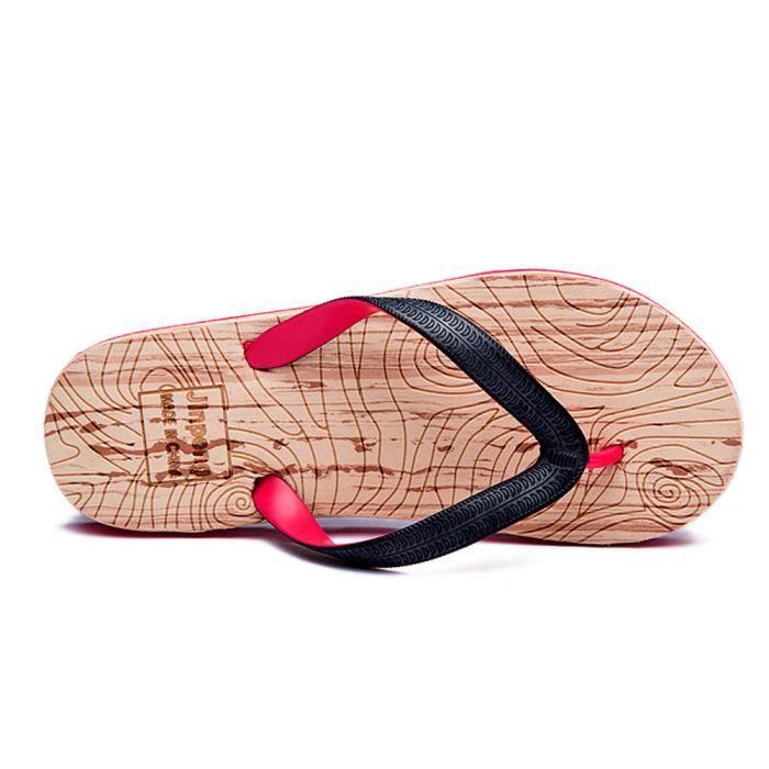 b8002a38f051e ... Chaussures Tongs Nouvelle Mode Pantoufle éTé Printemps Et éTé Sandale  Homme De Plein Air Sandale Marque ...
