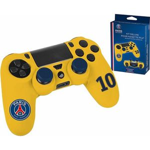 STICKER - SKIN CONSOLE Kit pour manette PS4 Subsonic jaune PSG n°10