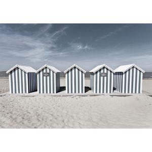 IMAGINE Toile Cabanes sur la Plage - 30x45