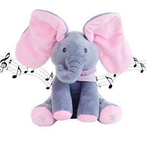 PELUCHE  Lapin en peluche cadeaux pour enfants jouets musi