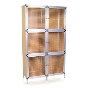 CLAPIER Cage Clapier Cabane à lapins MARCO 6 BOXES