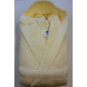 PEIGNOIR Peignoir Capuche 100% coton- 500 gr-m² - Couleur -