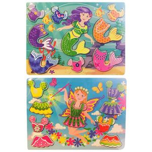 PUZZLE 1 PUZZLE FEE SIRENE A PERSONNALISER VETEMENT CHANG