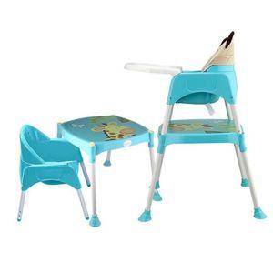 CHAISE HAUTE  Chaise haute télescopique pliable multifonctionnel