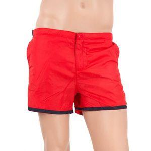 MAILLOT DE BAIN Short de bain rouge homme BEACH Best Mountain - Co ceed60104a2