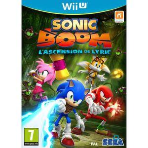 JEU WII U Nintendo Wii U Sonic Boom Lyic