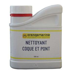 ENTRETIEN DU PONT Nettoyant coque et pont bateau Orangemarine 0.5 L
