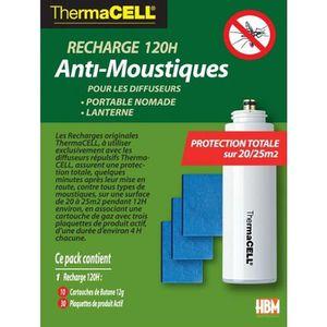ANTI-MOUSTIQUE Recharge 120H Anti-Moustiques pour Portable Nomade