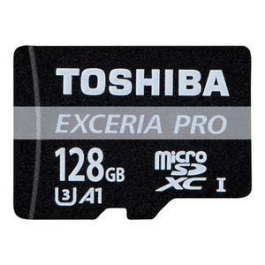 CARTE MÉMOIRE Toshiba EXCERIA PRO M402 Carte mémoire flash (adap