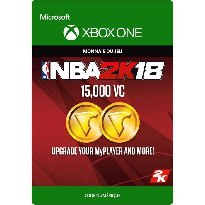 DLC NBA 2K18: 15 000 VC pour Xbox One