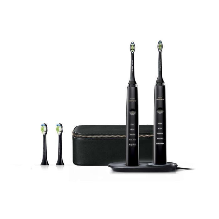 5 modes: Clean, Gum care, Blanche, Sensitive et Deep Clean – MinuteurBROSSE A DENTS ELECTRIQUE