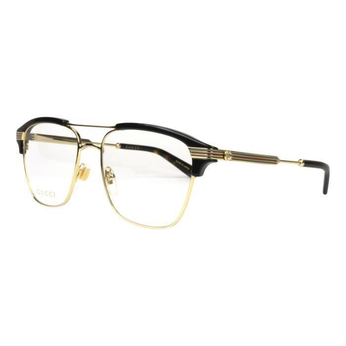 713c45237fa7fc Lunettes de vue Gucci GG-0241-O -002 - Achat   Vente lunettes de vue ...