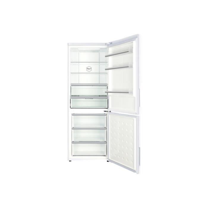 Haier C3FE744CWJ Réfrigérateur-congélateur pose libre largeur : 70 ...