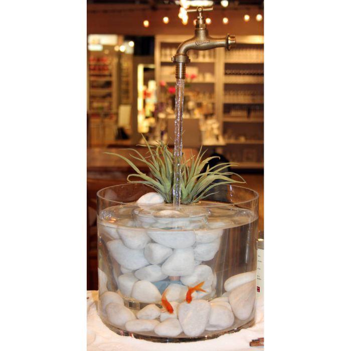 Fontaine Aquarium Avec Robinet Magique XCm  Achat  Vente