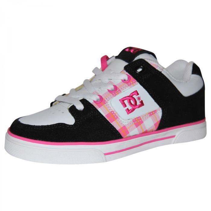 samples shoes DC PURE BLACK CRAZY PINK KIDS / ENFANTS