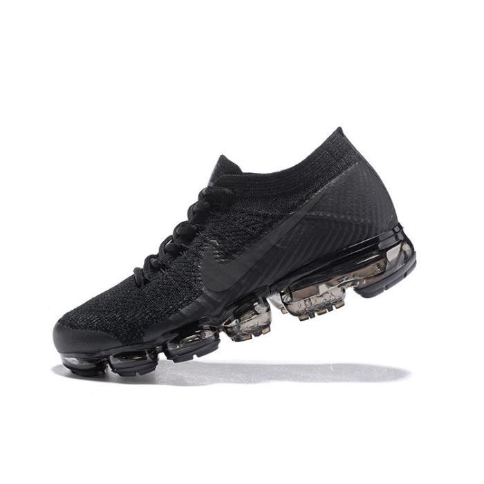 De Vapormax Noir Air Nike Flyknit Chaussures Sport Baskets 5XfcwqO