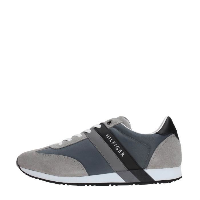 Tommy Hilfiger Sneakers Homme Grey ezSgy6wy1