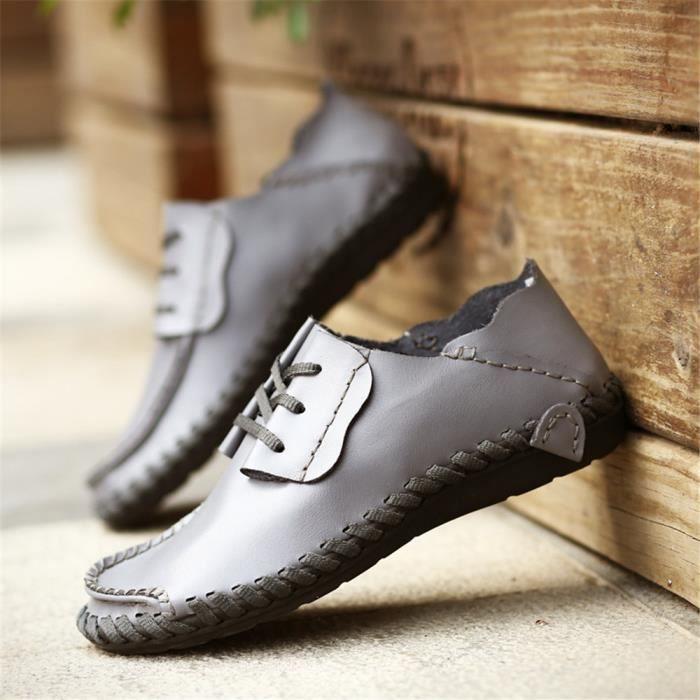 Chaussures Mode Homme En Arrivee Derbies Taille Nouvelle Grande Haut Cuir Qualité A4rYExA