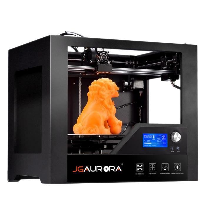 354a32a4694ee Imprimante 3D Imprimante JGAURORA Z-603S 280 x 180 x 180mm Écran LCD Haute  Précision Cadre en métal Machine complète