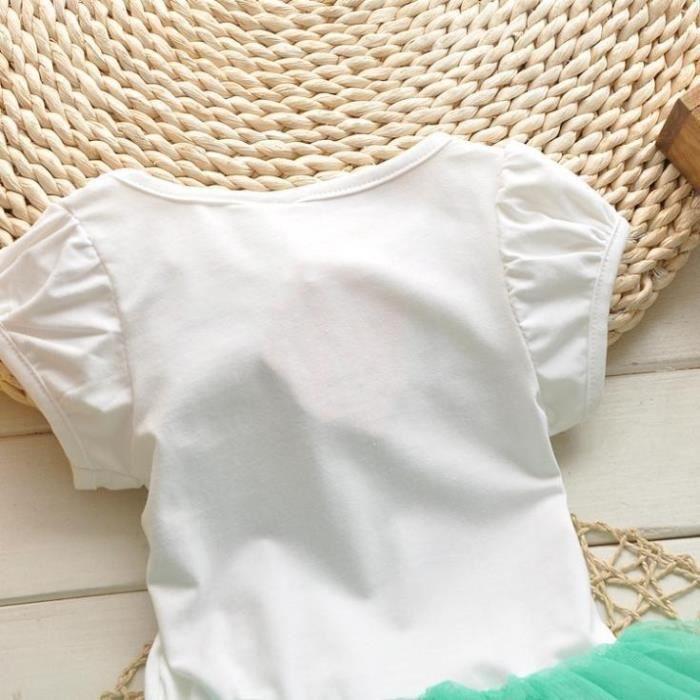 filles Chat Bébé filles love Tutu Robes vêtemen fSnAqrISx