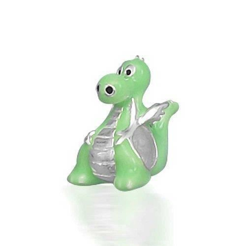 925 Argent Sterling Dragon Animal Perle Charm