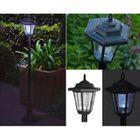 Lanterne Lampe Solaire 90 Cm Pour Jardin Terrasse Allee Achat