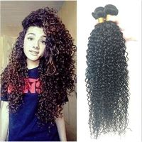 PERRUQUE - POSTICHE extensions cheveux Hot 6A Indian Kinky Curly Hai1P