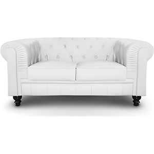 Canap chesterfield achat vente canap chesterfield - Canape chesterfield blanc pas cher ...