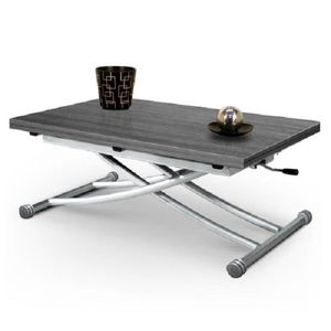 TABLE BASSE Table Basse Relevable Mirage Chene Gris