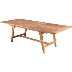 Table de jardin en bois extensible - Achat / Vente Table de jardin ...