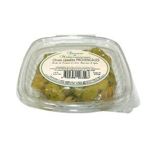 OLIVE Olives Cassées Provençales 250gr